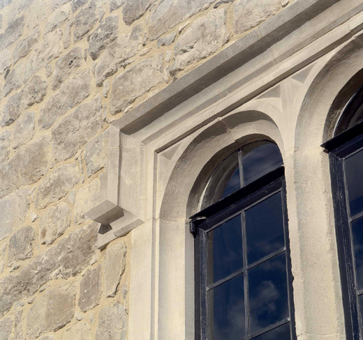 Leeds Castle window detail
